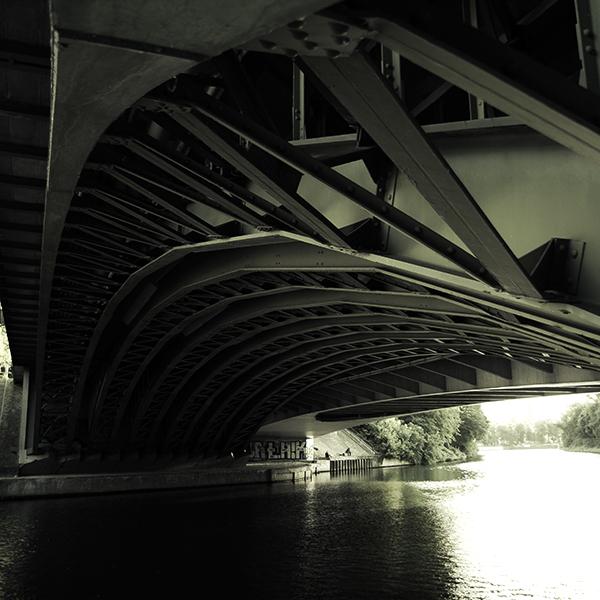 Berlin Nordufer Seestrasse Brücke