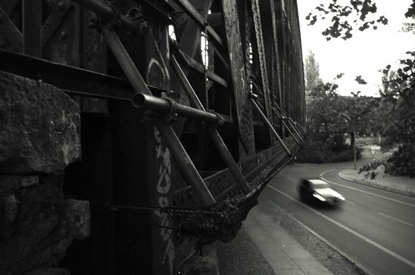 Eisenbrücke, Berlin, Wedding,