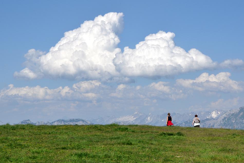 Approcher les nuages
