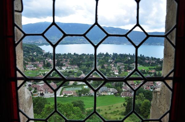 Vue sur le lac d' Annecy