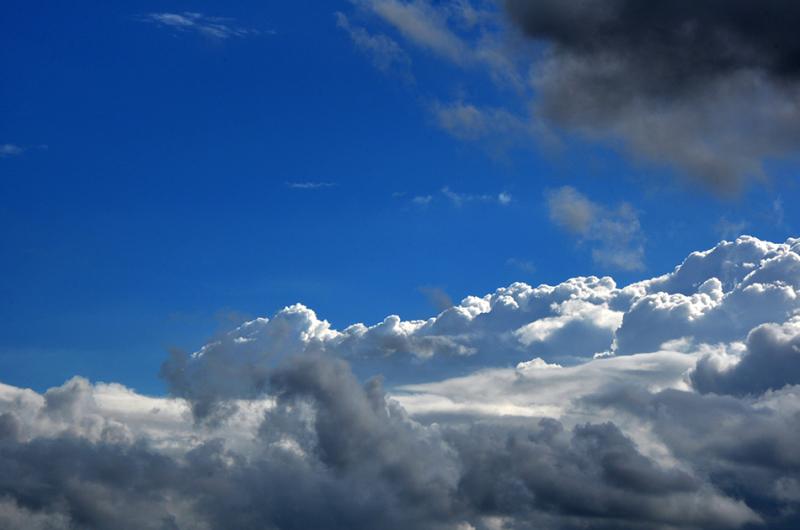 Etre au dessus des nuages