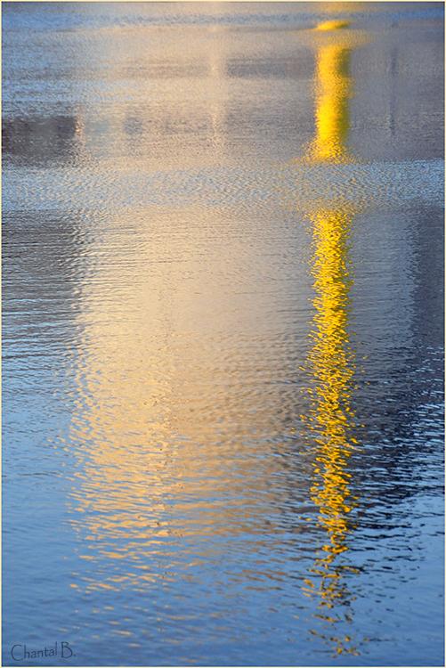 La cheminée jaune