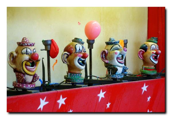 Billes de clowns