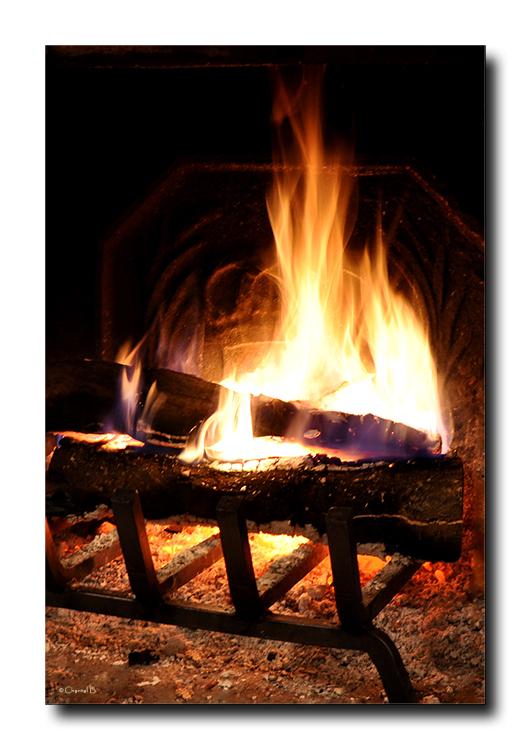 Un samedi au coin du feu