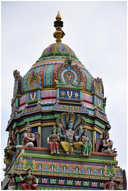 Détail 2 - Temple Tamoul