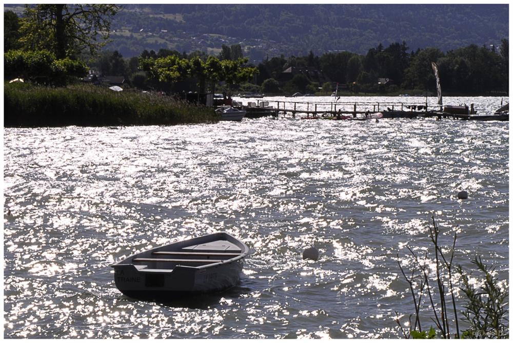 Le lac argenté