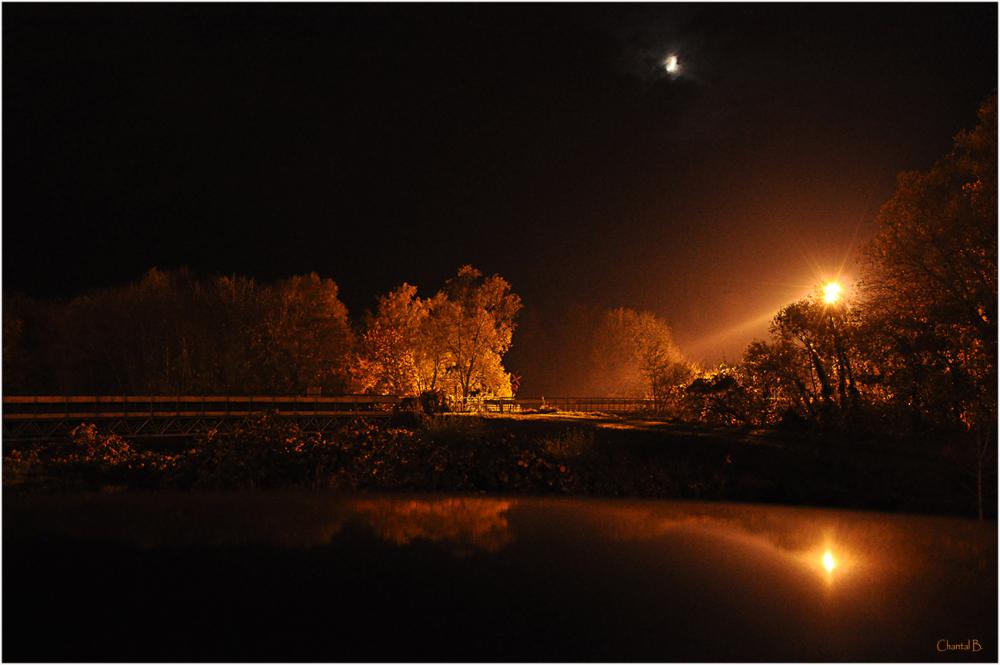 En campagne la nuit