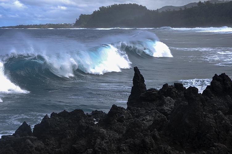 La vague turquoise