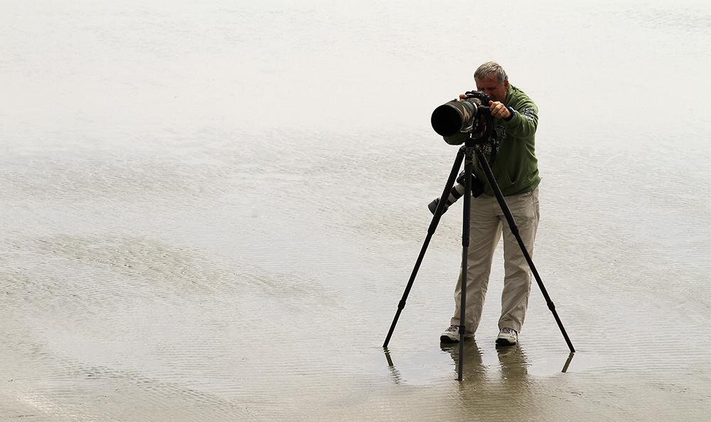 un photographe bien préparé