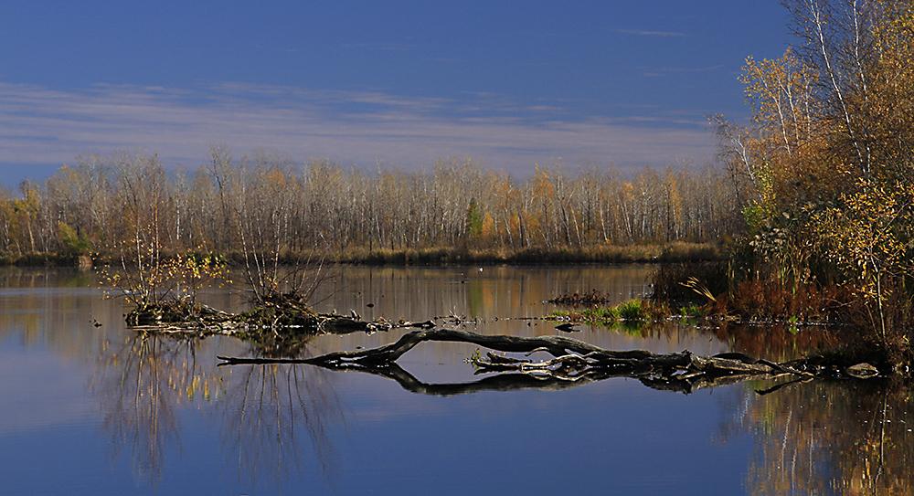 été des Indiens au lac Boivin