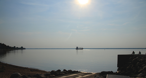 pêcheurs au quai.