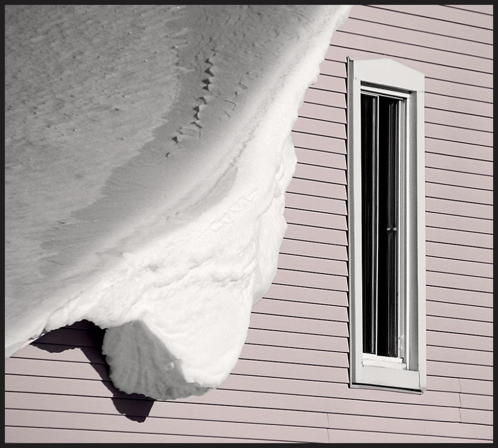 débordement de neige