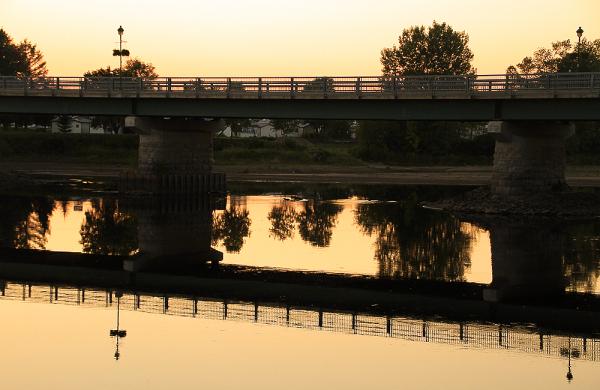 pont sur la rivière Sainte-Anne
