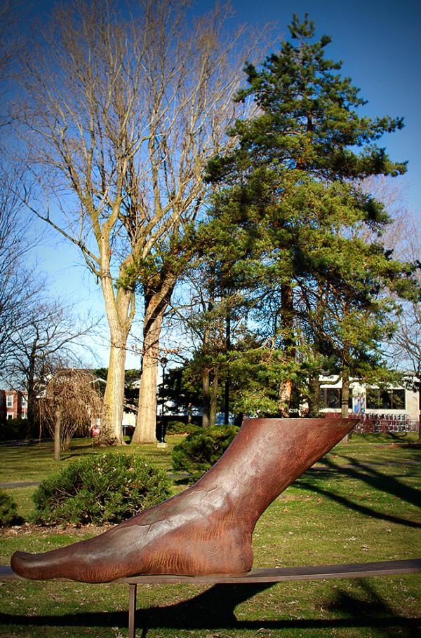 sculpture au parc