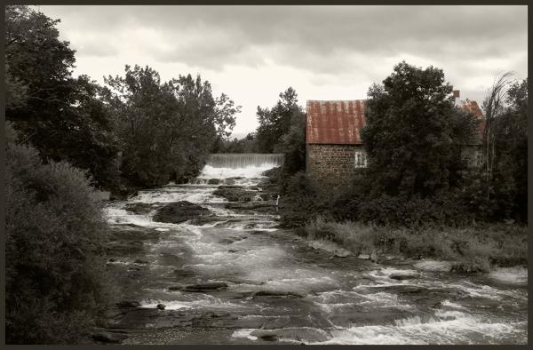 un vieux moulin