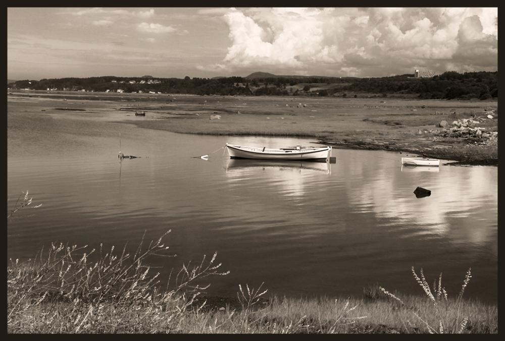 petites barques au quai