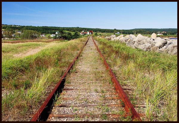 voie ferrée abandonnée