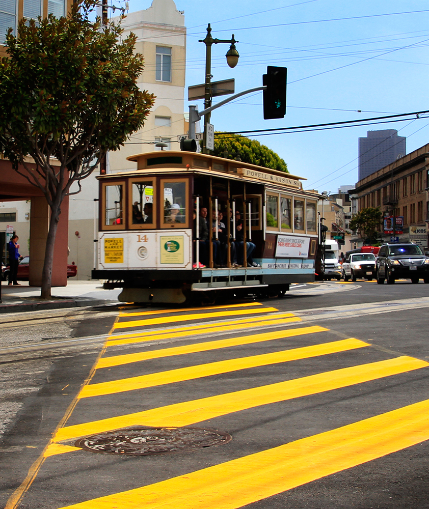 Tramway à San Francisco