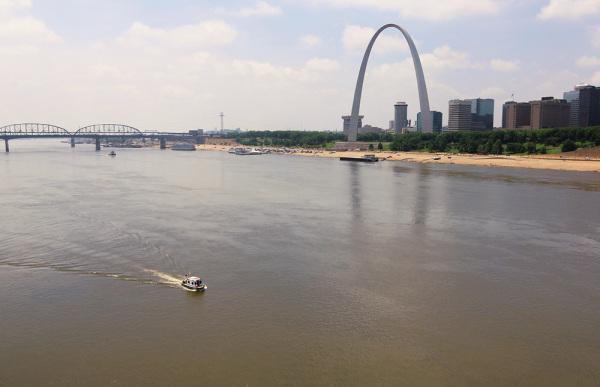skyline of Saint Louis