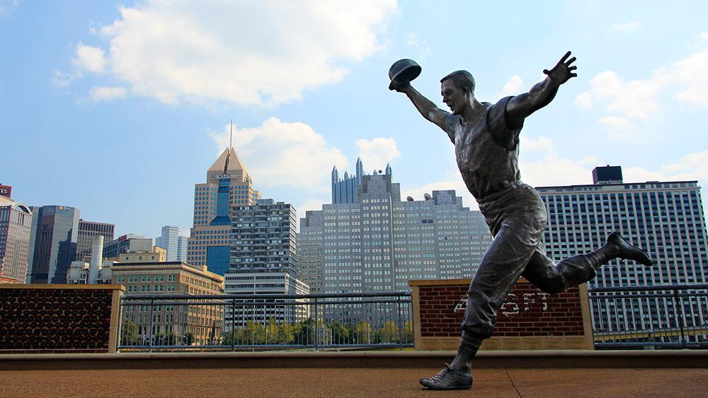 statue de Bill Mazeroski