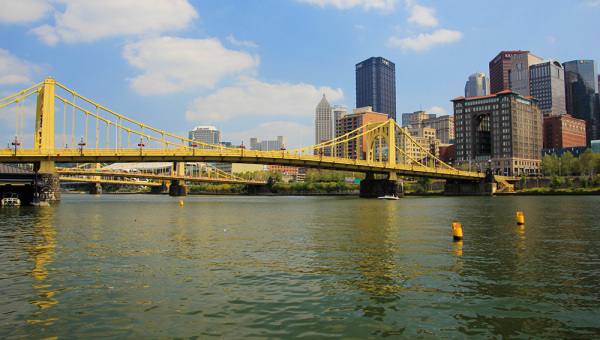 skyline of Pittsburgh