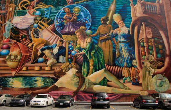 murale à Philadelphie