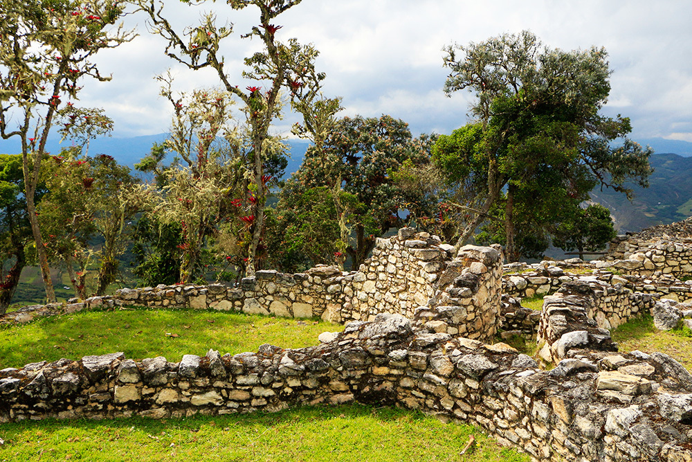 Ruines à Kuelap