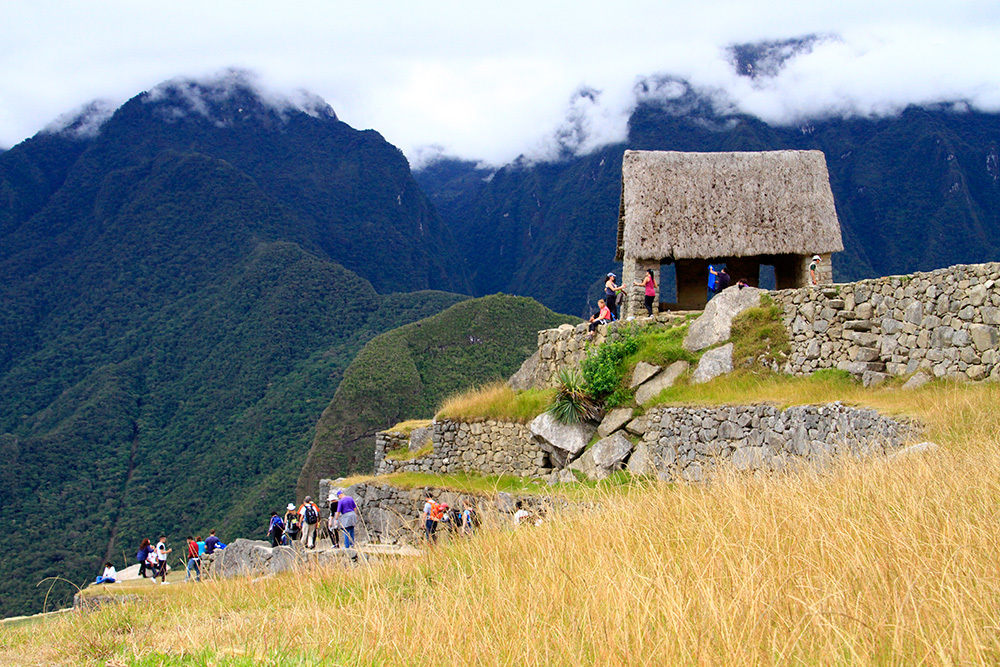 House of the guardian in Machu Picchu