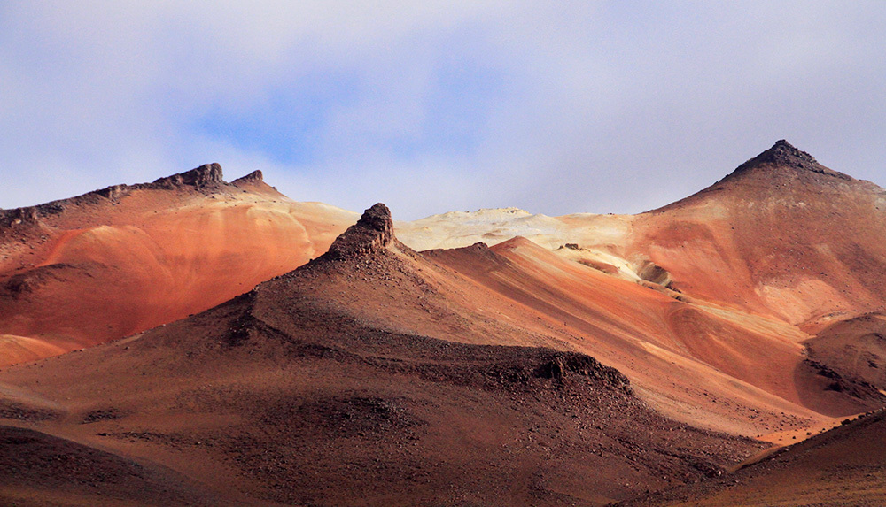 Coloured mountains in South Lipez