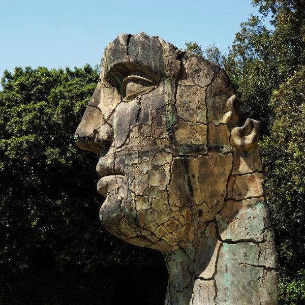 Sculpture aux jardins Boboli