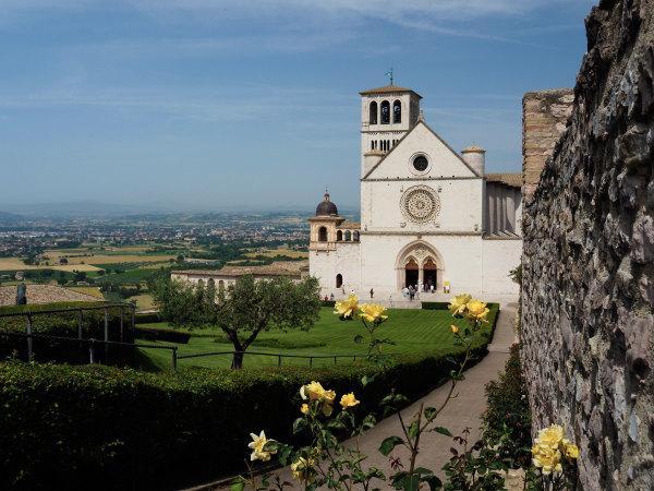 Cathédrale à Assise