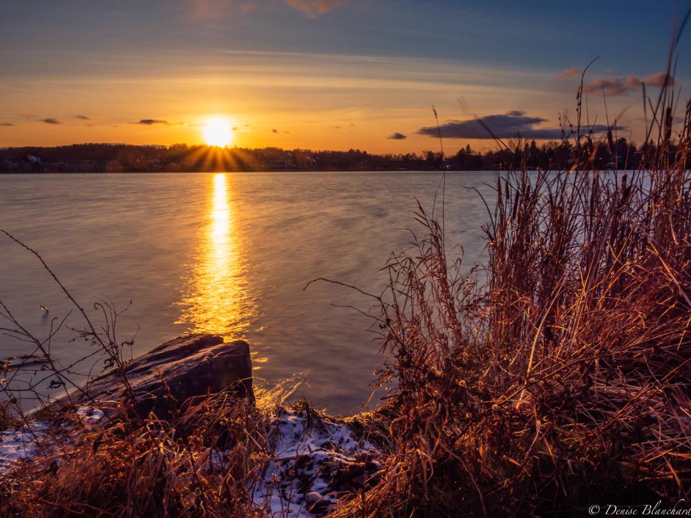 Coucher de soleil de novembre