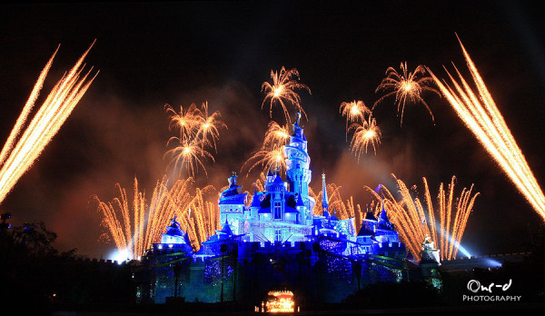 Fireworks in Disney