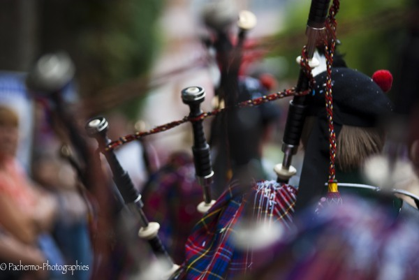 Bagpipes in carnival