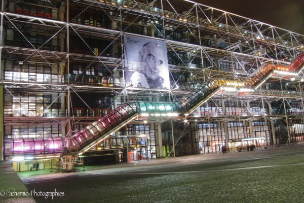 Beaubourg by night ...