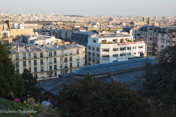 Une soirée à Montmartre  (1)