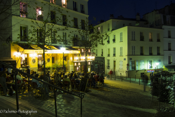 Une soirée à Montmartre (7)