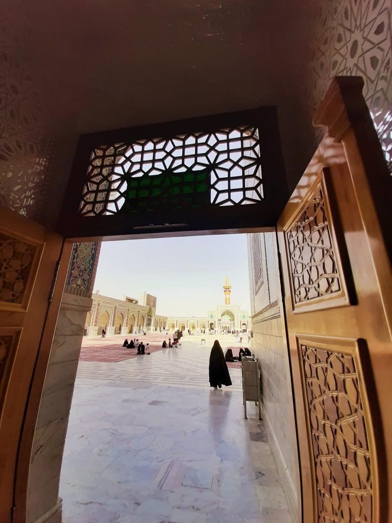The holy shrine of Imam Reza pbuh