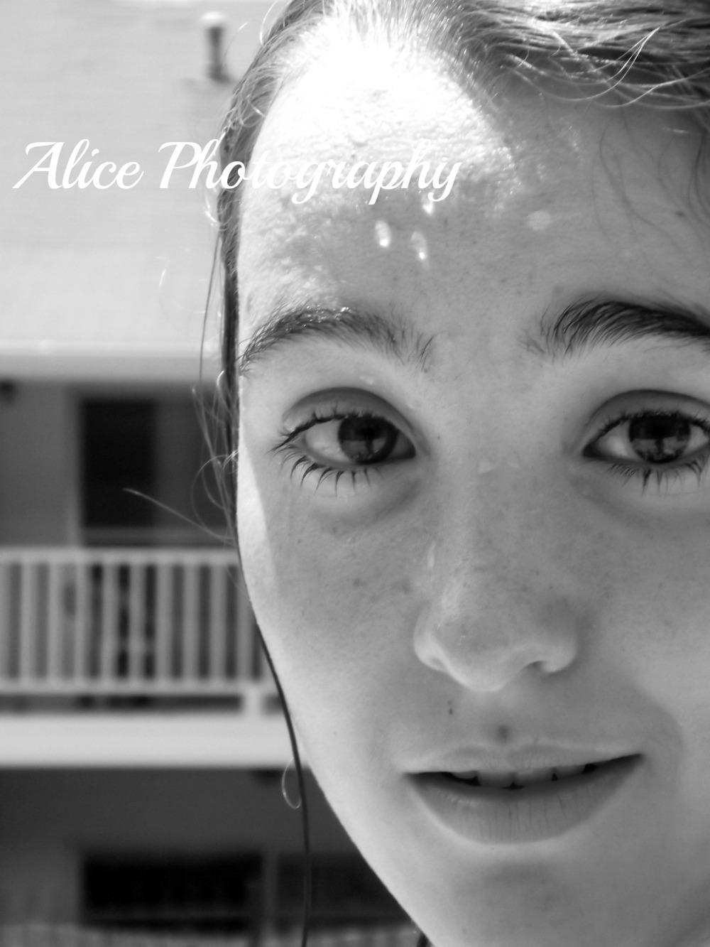 Allison went swimming