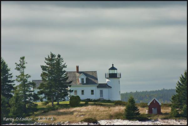 Eggemoggin lighthouse Maine