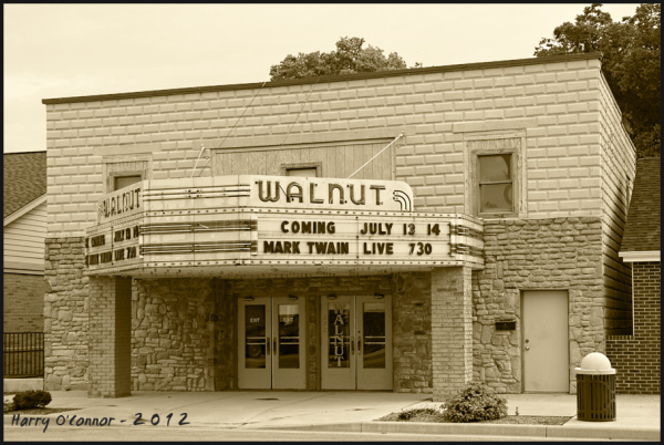 Walnut theater in Laurenceburg, IN