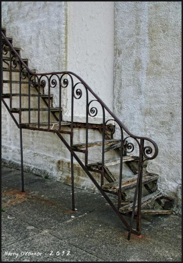 Broken stairs
