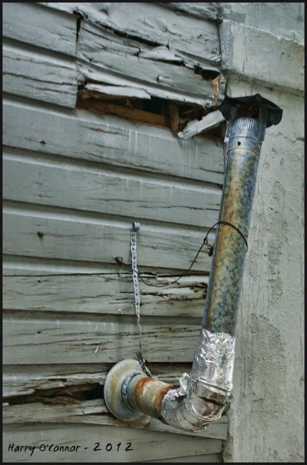 Improvised chimney