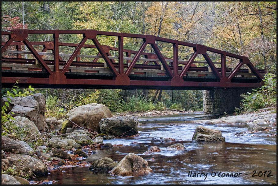 Davidson River bridge