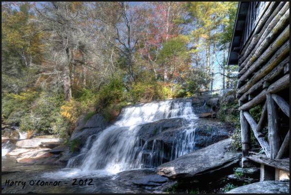 Transylvania county waterfall