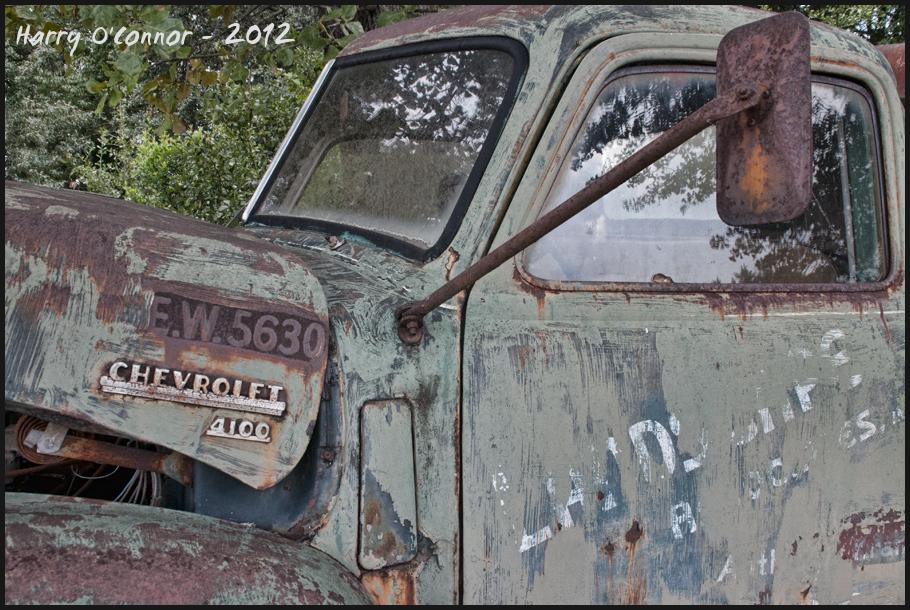 Rusty Chevrolet 4100 at Danny's