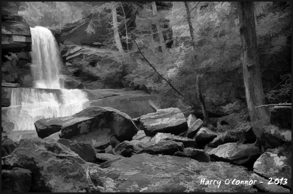 Maiden Hair Falls, Transylania Co NC, 2012-am3