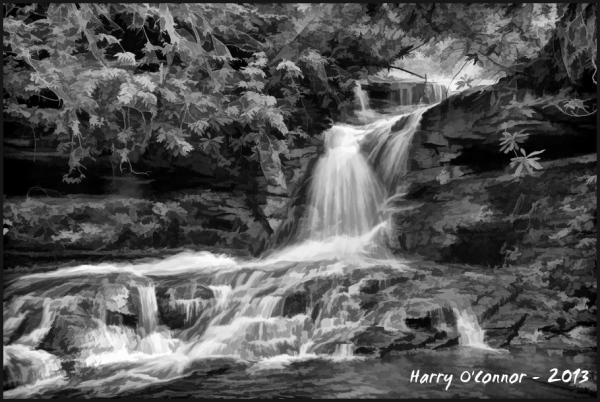 Middle Falls, Transylania Co NC, 2011