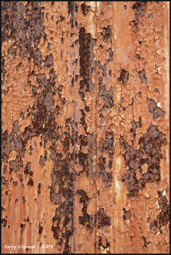 Lamp post rust