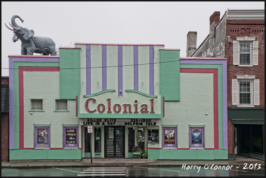 Colonial Theater in Ellsworth ME